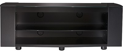 PFV47b - Platinum 3-shelf A/V Stand for flat panel TVs up to 50` (Black)
