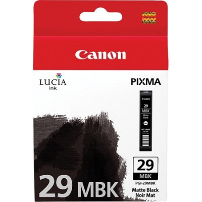 PGI-29 MBK - LUCIA Series Matte Black Ink Cartridge for PIXMA PRO-1 Printer