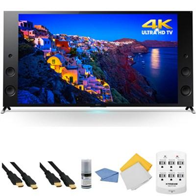 XBR-65X930C  - 65-inch 4K Ultra HD 120Hz 3D Smart LED TV + Hookup Kit