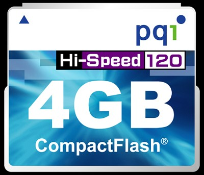 4GB 120X Super-High-Speed Compact FlashMemory Card