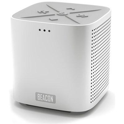 Blazar Portable Bluetooth Speaker and Speakerphone - Silver - OPEN BOX