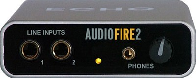 AudioFire2 4 Input / 6 Output FireWire Audio Interface for Mac OS X / Windows XP
