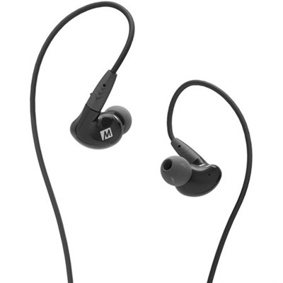 Pinnacle P2 Hi Fidelity Audiophile In-Ear Headphone w/ Detachable Cables (Black)