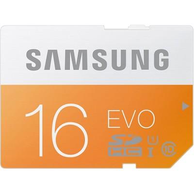 EVO 16GB SDHC Secure Digital Memory Card - Class 10