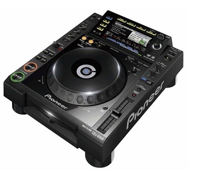 CDJ-2000 Professional Multi-Media and CD Player with Rekordbox Software