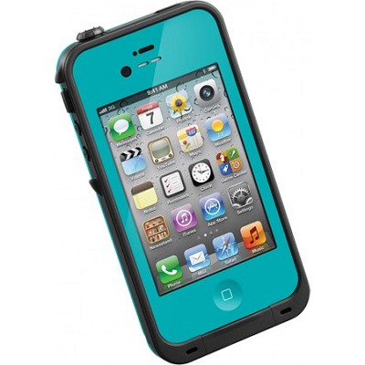 Waterproof Shockproof and Dirtproof iPhone Case for the iPhone 4S/4 - Teal