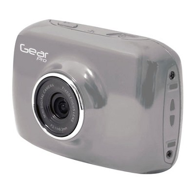 High-Definition Action Camera, 720p Wide-Angle Camcorder With 2.0 Screen- Gray