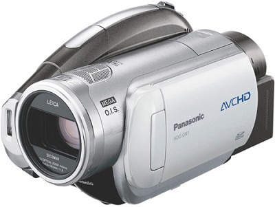 HDC-DX1-3CCD High-definition DVDCamcorder w/OISand 12x Optical Zoom - OPEN BOX