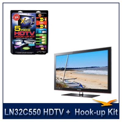LN32C550 - HDTV + High-performance HDTV Hook-up & Maintenance Kit