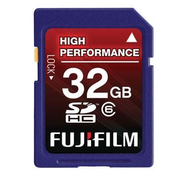 FujiFilm 32GB SDHC Class 6 Memory Card