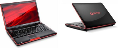 Qosmio X505-Q885 TruBrite 18.4-Inch Laptop (Black/Red)