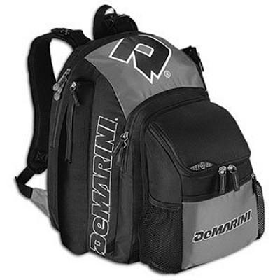 Voodoo Baseball Gearbag Backpack - Black/Silver