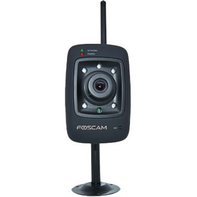 FI8909W-NA Mini Wireless IP Camera - Black