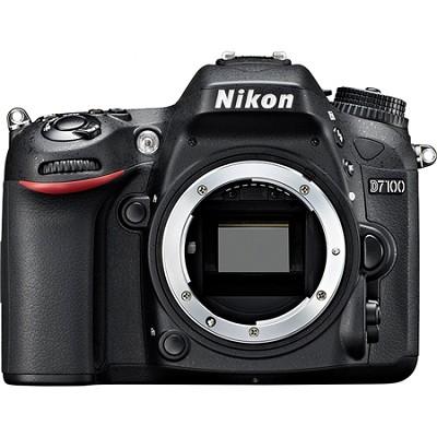 D7100 DX-Format Digital HD-SLR Body with 3.2` LCD Monitor