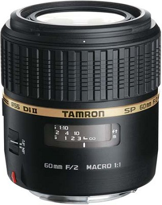 SP AF60mm F2 Di II LD (IF) 1:1 Macro Lens for Canon EOS