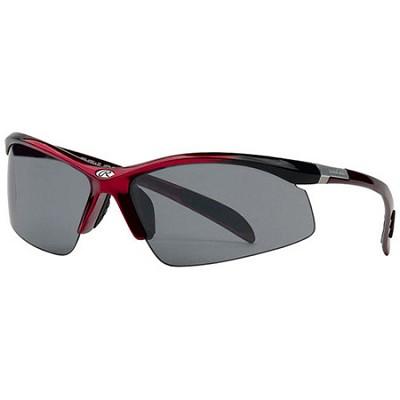 RAWL6 - Half-Rim Athletic Wrap Sunglasses