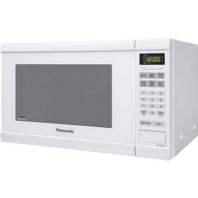 1.2 Cubic Foot Microwave Oven in White with Inverter Technology - NN-SN651W