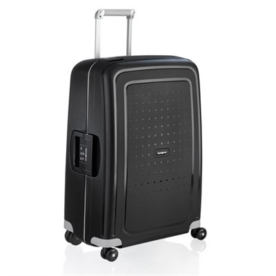 S'Cure 28` Zipperless Spinner Luggage - Black - (49308-1041)