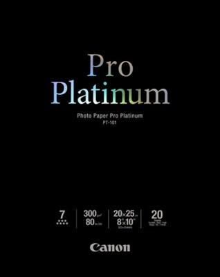 Photo Paper Pro Platinum 8` X 10` - 20 Sheets - OPEN BOX