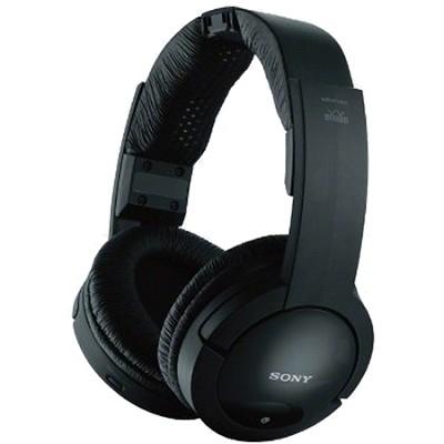 MDRRF985RK Wireless RF Headphones (Black) - OPEN BOX