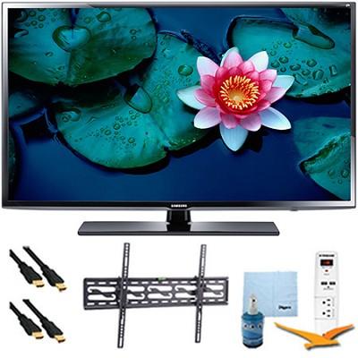50` UN50H5203 Full HD Smart TV Clear Motion Rate 120 Tilt Mount & Hook-Up Bundle