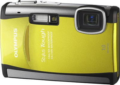 Stylus Tough 6000 10MP Shockproof Waterproof Freezeproof Digital Camera (Yellow)