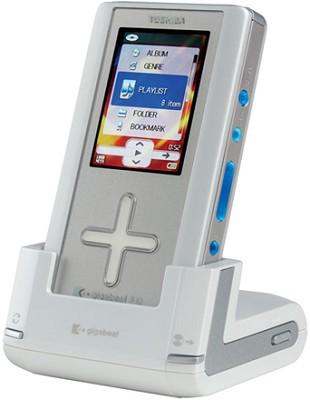 MEG-F10S 10 GB gigabeat Player - Silver Acrylic