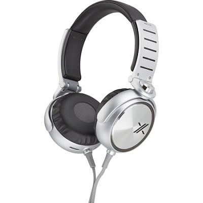 MDRX05/BS X Headphone, Black/Silver