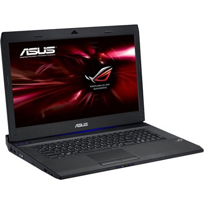 G74SX-DH71 17.3 In Gaming Notebook PC  With Intel i7-2670QM - Black