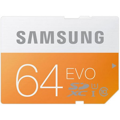 64GB EVO SDXC UHS 1 - Class 10 Memory Card - MB-SP64D/AM