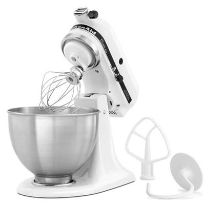 4.5-Quart Classic Stand Mixer in White - KSM75WH