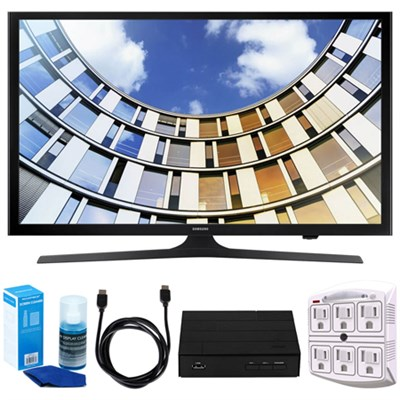 Flat 50` 1080p LED SmartTV (2017) + Terk HD Digital TV Tuner Bundle