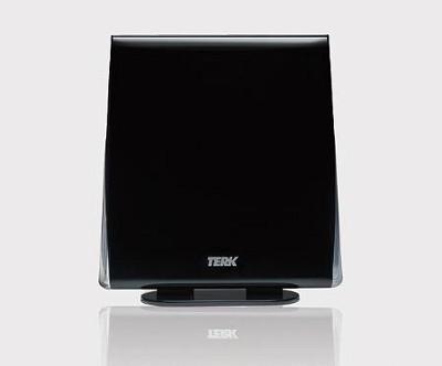 FDTV2 Omni Directional Passive Flat Digital HDTV Antenna (Black)
