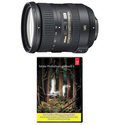 AF-S DX NIKKOR 18-200mm f/3.5-5.6G ED VR II Lens w/ Adobe Lightroom 5