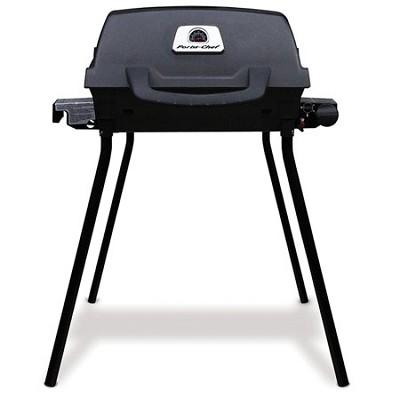 Model Porta-Chef Liquid Propane 14,000 BTU Portable Gas Grill, Black - 900214