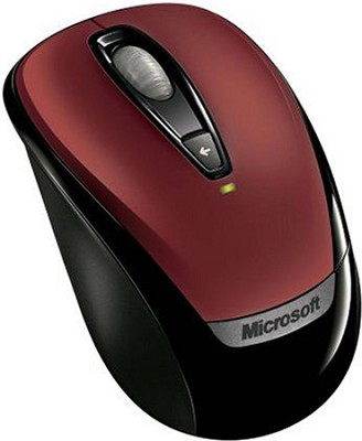 Wireless Mobile Mouse 3000 Red