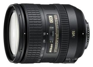 AF-S DX NIKKOR 16-85mm f/3.5-5.6G ED VR Lens (IMPORTED)