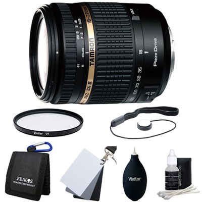 18-270mm f/3.5-6.3 Di II VC PZD Aspherical Lens Kit for Sony DSLR