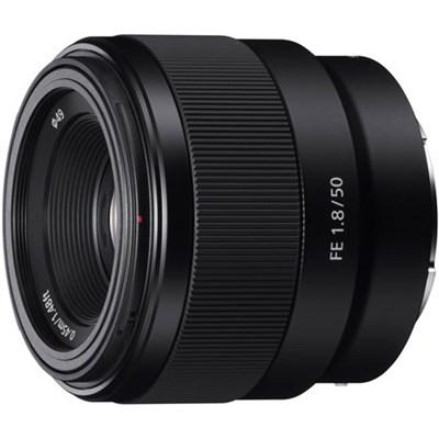 FE 50mm F1.8 Full-frame Prime E-Mount Lens - SEL50F18F - OPEN BOX
