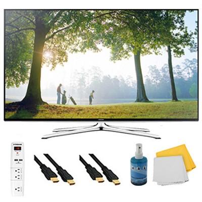 UN65H6350 - 65` HD 1080p Smart HDTV 120Hz with Wi-Fi Plus Hook-Up Bundle