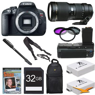 EOS Rebel T5i SLR Digital Camera Wildlife Photographer Bundle