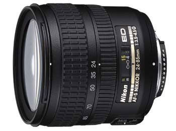 24-85mm F/3.5-4.5G ED-if AF-S Zoom-Nikkor Lens, With Nikon 5-year USA Warranty