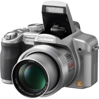 Lumix DMC-FZ28S 10 Megapixel Digital Camera w/ 18x Optical Zoom (Silver)