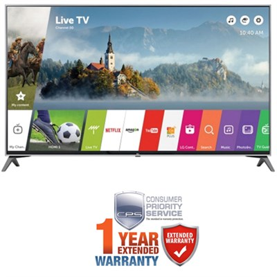 65` UHD 4K LED TV 2017 Model w/ Additional 1 Year Extended Warranty