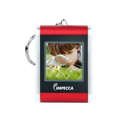 DPV-150R 1.5` Digital Photo Keychain (Red)
