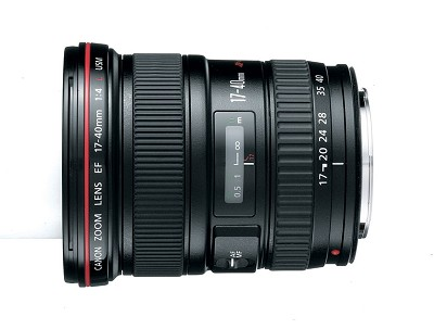 EF 17-40mm F/4 L USM Lens, With Canon 1-Year USA Warranty