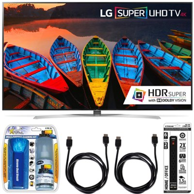 65UH9500  65-Inch Super UHD 4K Smart TV w/ webOS 3.0 Accessory Bundle