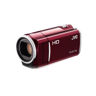 GZ-HM50US Flash Memory Camcorder - Red