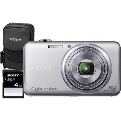 DSC-WX70 - 16.2MP Exmor R CMOS Full HD Digital Camera 3.0` LCD 5x Zoom (Silver)
