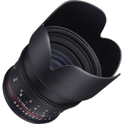 50mm T1.5 Cine VDSLR II Lens for Micro Four Thirds Mount
